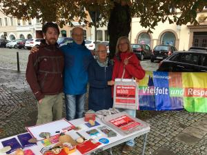 InfoStand in Hof